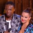 Azize Diabaté et Denitsa Ikonomova lors du premier prime de la saison 10 de Danse avec les Stars sur TF1 le 21 septembre 2019