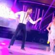 Liane Foly et Christian Millette lors du premier prime de la saison 10 de Danse avec les Stars sur TF1 le 21 septembre 2019