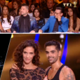 Linda Hardy et Christophe Licata lors du premier prime de la saison 10 de Danse avec les Stars sur TF1 le 21 septembre 2019