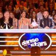 Le jury lors du premier prime de la saison 10 de Danse avec les Stars sur TF1 le 21 septembre 2019