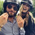 Ludivine Birker et son amoureux, Olivier Keygan, en couple sur Instagram. (6 juin 2019)