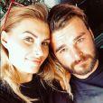 Ludivine Birker et son amoureux, Olivier Keygan, en couple sur Instagram. (21 août 2019)