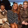 Kat Graham, Anna Dello Russo, Lady Kitty Spencer - People au défilé Tod's lors de la Fashion Week de Milan, le 21 septembre 2019.
