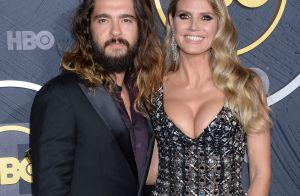 Heidi Klum aux Emmy Awards : décolleté plongeant au bras de son mari