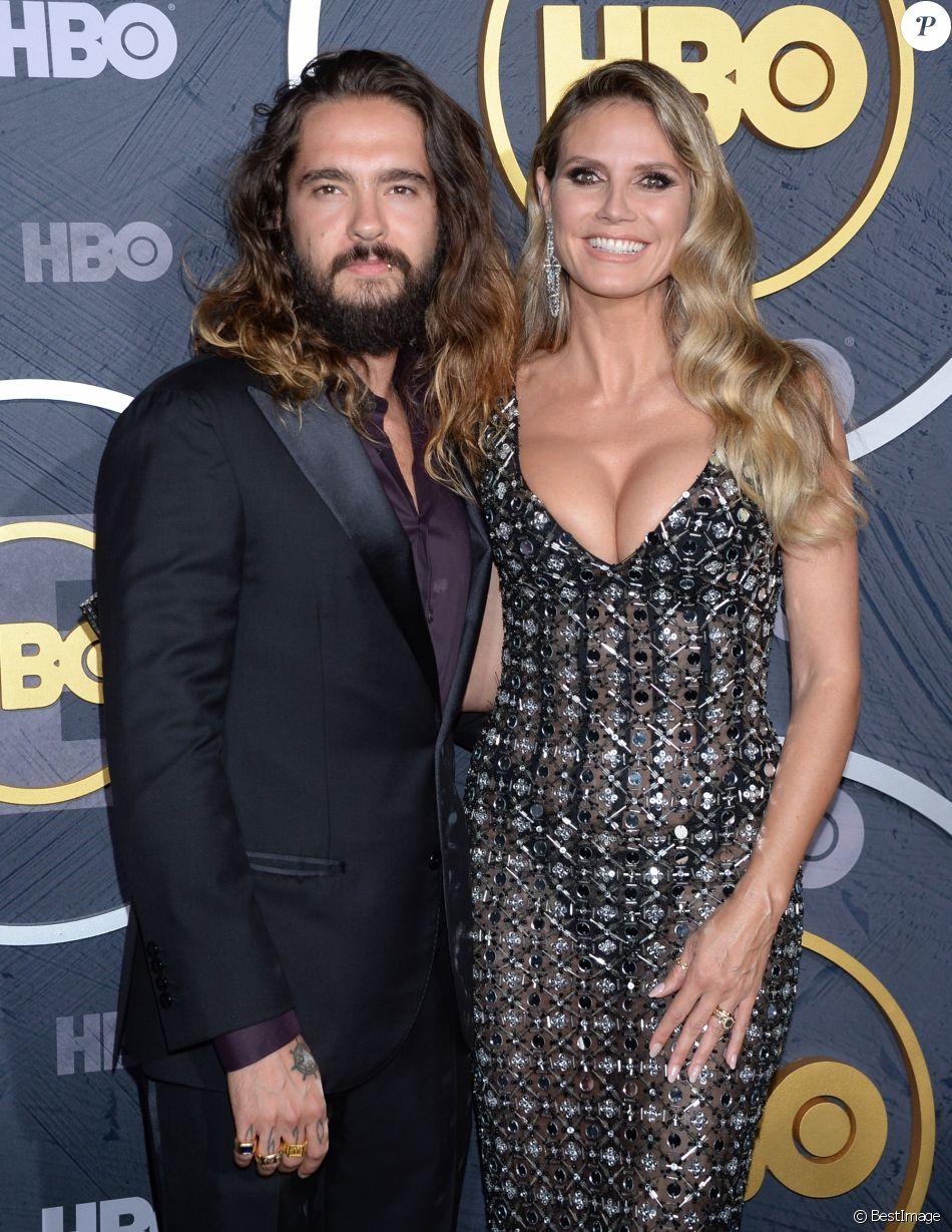 Heidi Klum et son mari Tom Kaulitz à la HBO Post Emmy Award Reception au Pacific Design Center à Los Angeles, le 22 septembre 2019
