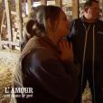 """Marie-Rose, Yves et Gégé - """"L'amour est dans le pré 2019"""" sur M6. Le 30 septembre 2019."""