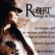 RoBERT est l'ambassadrice musicale du nouveau parfum Givenchy, Ange ou Démon Le Secret.