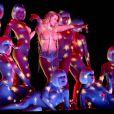 Carmen Electra lors de son show très sexy au Crazy Horse de Las Vegas, le 9 juillet 2009 !