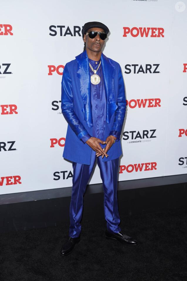 """Snoop Dogg à l'avant-première de la saison finale de la série """"Power"""" à New York, le 20 août 2019."""