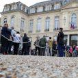 Hommage à l'ancien président de la République, Jacques Chirac, au palais de l'Elysée à Paris, France, le 27 septembre 2019. © Stéphane Lemouton/Bestimage
