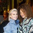 Cécile Cassel et Stéfi Celma assistent au défilé Stella McCartney Collection Prêt-à-Porter Printemps/Eté 2020 lors de la Fashion Week de Paris (PFW) à l'Opéra Garnier. Le 30 septembre 2019. © Olivier Borde/Bestimage
