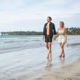 """Fidji et Dylan de """"La Bataille des couples"""", photo officielle, sur TFX"""