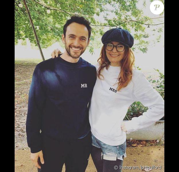 George Blagden avec son épouse Laura Pitt-Pulford sur Instagram le 30 septembre 2019.