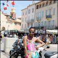 Vincent Mc Doom à Saint-Tropez. 12/07/09