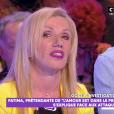 """Fatima de """"L'amour est dans le pré 14"""", invitée sur le plateau de TPMP le vendredi 4 octobre 2019."""