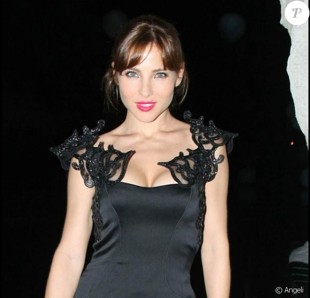 La belle Elsa Pataky, lors du 7e Festival Global Music et Cinéma, à Ischia, en Italie, le 12 juillet 2009