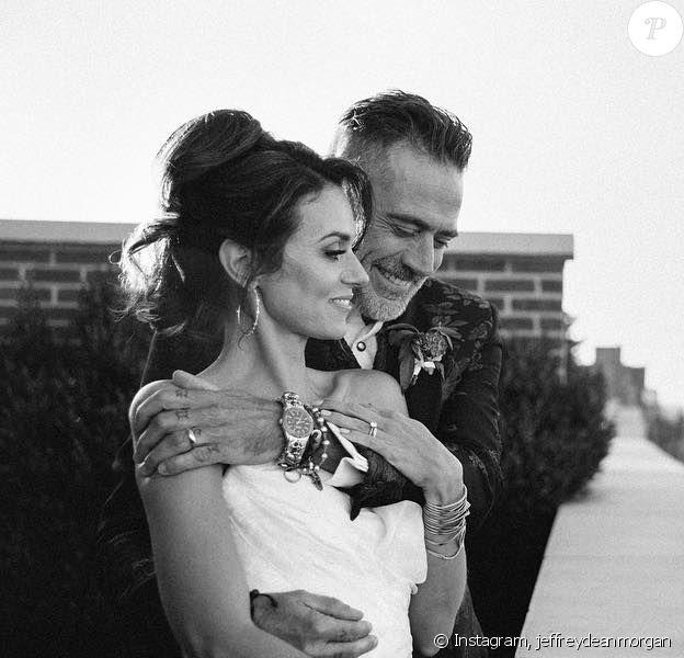 Jeffrey Dean Morgan et Hilarie Burton se sont mariés en octobre 2019.
