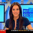 Un regard bleu azur et une plastique de rêve, Sophie Feracci est une ancienne mannequin qui a quitté Infosport pour animé Le Web Show sur Direct 8 !