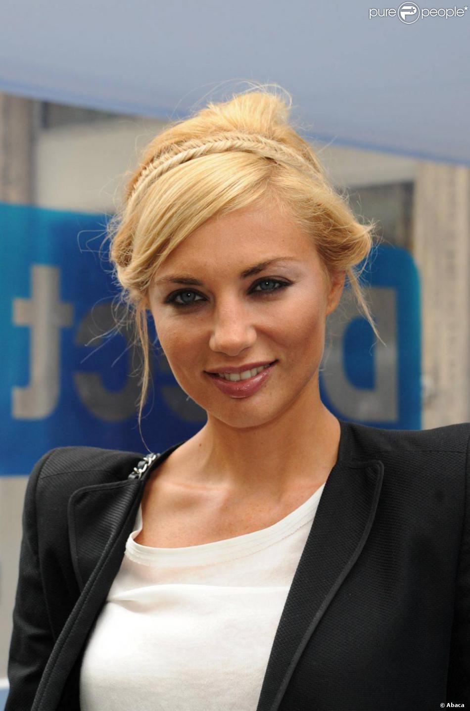 Émission de télévision blonde