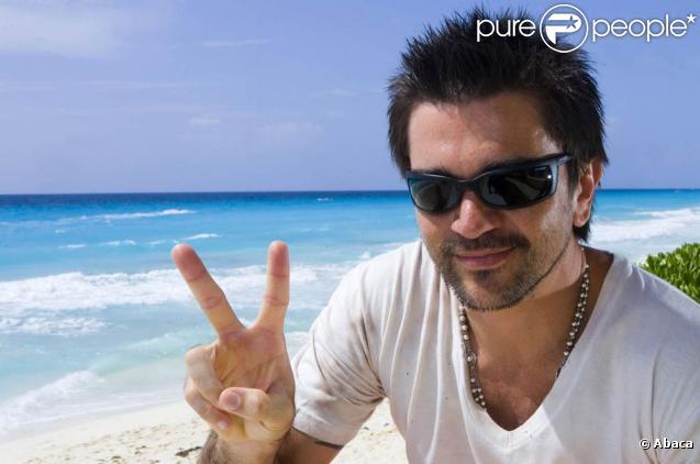 Juanes en photocall à Cancun (12 juillet 2009, Mexique)