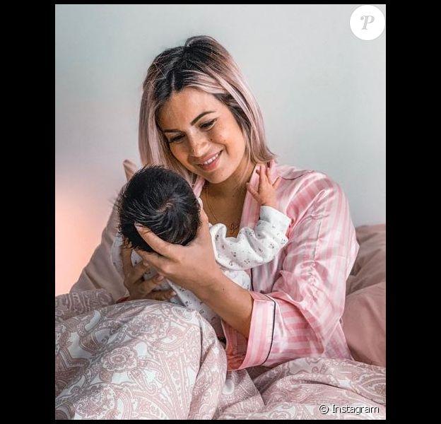 Carla Moreau et sa fille Ruby sur Instagram, le 9 octobre 2019.