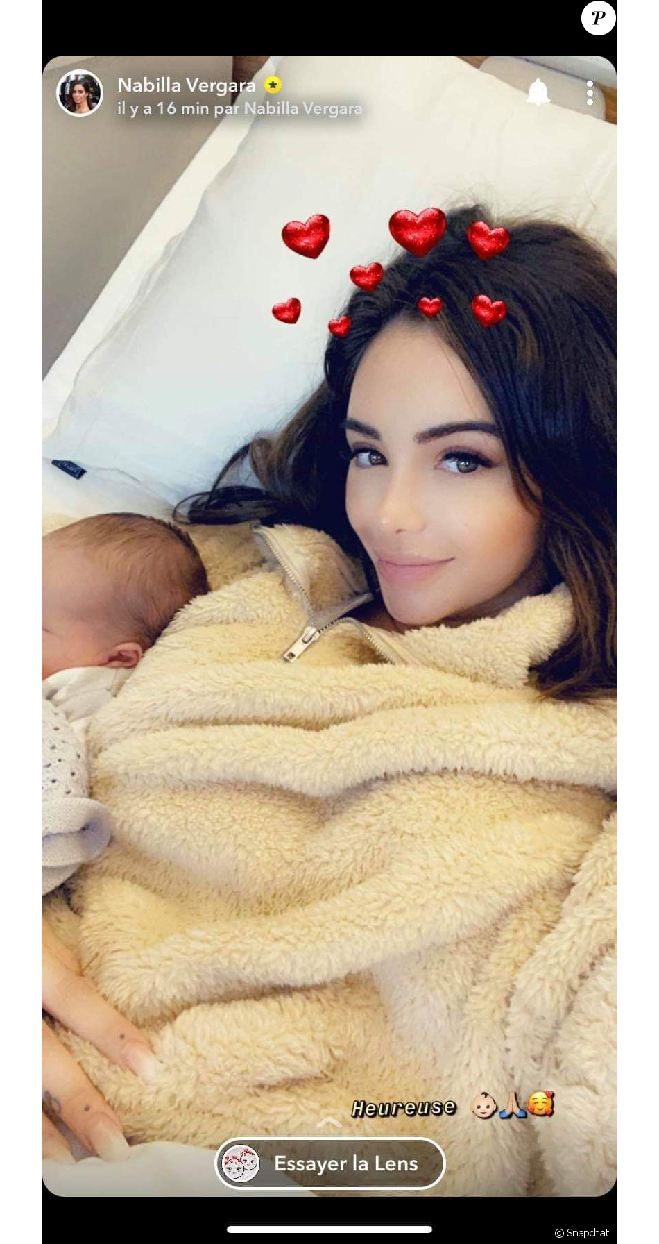 Nabilla et Thomas ont accueillis leur premier enfant, Milann le 11 octobre 2019.