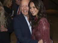 Bruce Willis : Soutenu par sa jeune et ravissante épouse Emma