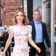 Natalie Portman arrive aux studios de Build Series à New York, le 2 octobre 2019.