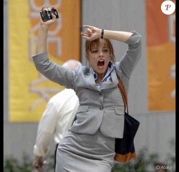 Rachel McAdams en plein tournage à New York
