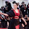 """Gong Li - Tapis rouge du film """"Lan Xin Da Ju Yuan"""" (Saturday Fiction) lors du 76ème festival international du film de Venise, la Mostra, le 6septembre 2019."""