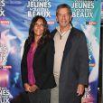 """Michel Cymes et sa femme Nathalie - Avant-première du film """"Vous êtes jeunes, vous êtes beaux"""" au cinéma Gaumont Opéra à Paris, le 23 septembre 2019. © Coadic Guirec/Bestimage"""