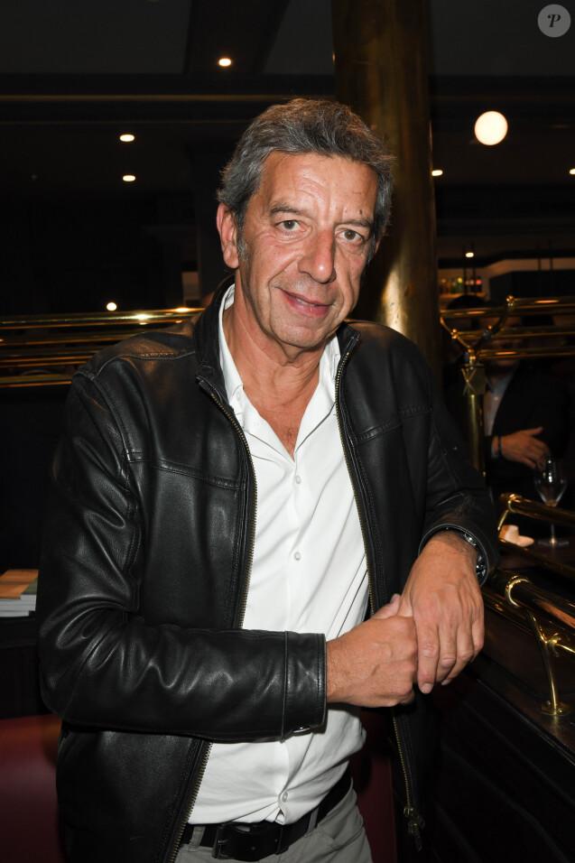 Exclusif - Michel Cymes lors de la soirée d'inauguration de la brasserie Paul Bocuse dans l'hôtel du Louvre, dans le 1er arrondissement de Paris, France, le 12 septembre 2019.© Coadic Guirec/Bestimage