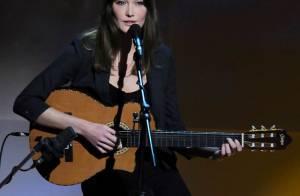 Le concert de Carla Bruni à New York ne fait pas le plein...