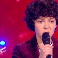"""Ali - Finale de """"The Voice Kids 2019"""" sur TF1. Le 25 octobre 2019."""