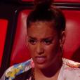 """Amel Bent - Finale de """"The Voice Kids 2019"""" sur TF1. Le 25 octobre 2019."""