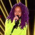 """Talima - Finale de """"The Voice Kids 2019"""" sur TF1. Le 25 octobre 2019."""