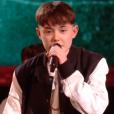 """Lilou - Finale de """"The Voice Kids 2019"""" sur TF1. Le 25 octobre 2019."""