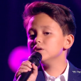 """Natihei - Finale de """"The Voice Kids 2019"""" sur TF1. Le 25 octobre 2019."""