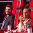 """Amel Bent, Jenifer - Finale de """"The Voice Kids 2019"""" sur TF1. Le 25 octobre 2019."""