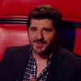 """Patrick Fiori - Finale de """"The Voice Kids 2019"""" sur TF1. Le 25 octobre 2019."""