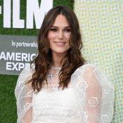 """Keira Knightley jeune maman de retour au cinéma : """"Mes seins vont exploser"""""""