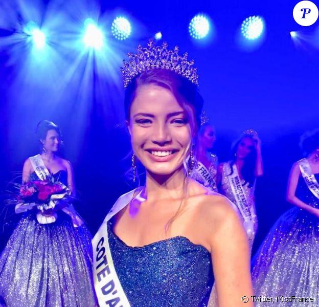 Manelle Souahlia, Miss Côté d'Azur 2019, se présentera à l'élection Miss France 2020 le 14 décembre 2019.