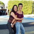 """Alyssa Milano et Holly Marie Combs à la soirée """"Teen Choice Awards"""", Los Angeles, 4 août 2003."""