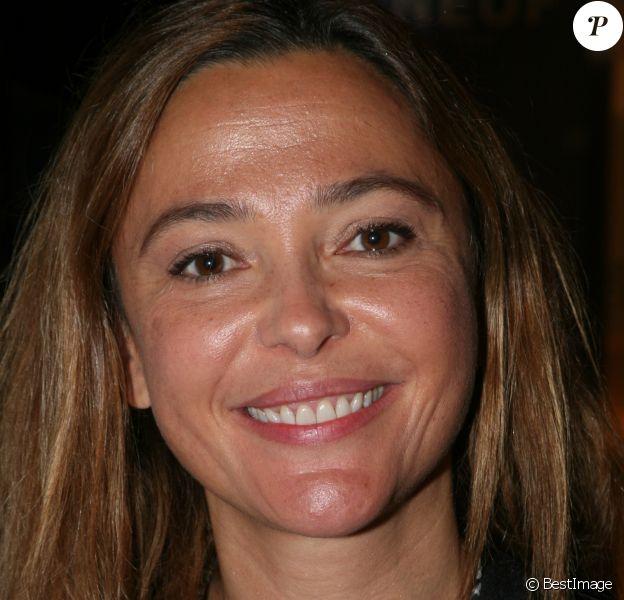 """Sandrine Quetier lors de la 5ème édition de la journée femme de """"L se réalisent"""" à la mairie du 9ème arrondissement à Paris le 19 octobre 2019."""