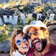 Isabelle Ithurburu et Maxim Nucci célèbrent leur amour sur Instagram (25 octobre 2019).