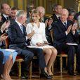 Le 18e anniversaire de la princesse héritière Elisabeth de Belgique, duchesse de Brabant, a été célébré le 25 octobre 2019 dans la Salle du Trône au palais royal à Bruxelles.