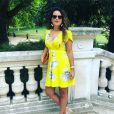"""Laetitia de """"L'amour est dans le pré"""" dans une jolie robe, sur Instagram, le 3 juillet 2019"""