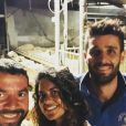 """Laetitia de """"L'amour est dans le pré"""" retrouve son ex Raoul et Emeric - photo Instagram du 14 septembre dernier"""