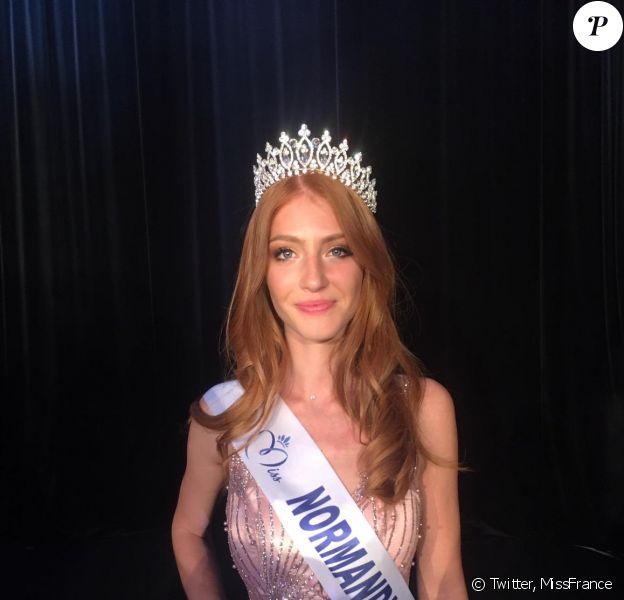 Marine Clautour, Miss Normandie 2019, se présentera à l'élection de Miss France 2020, le 14 décembre 2019.