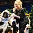 Brigitte Bardot au Noêl des animaux de la SPA en 2004.